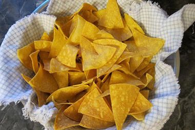 Easy homemade tortilla chips - CSMonitor.com