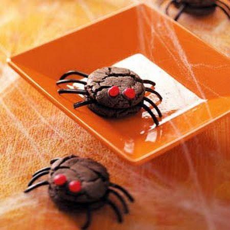 Creepy Spider Cookies | halloween | Pinterest