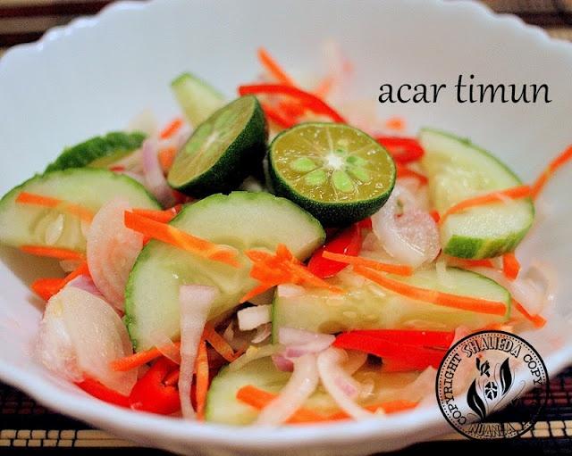 Acar Timun | Iftar Ramadan Break-fasting | Pinterest