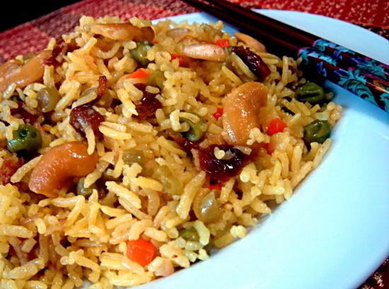 Indian vegetable rice recipe dishmaps forumfinder Images