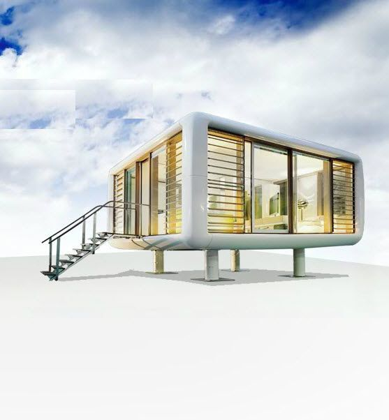 Pin by raphaelle dedourge on summer house pinterest for Maison moderne prefabriquee