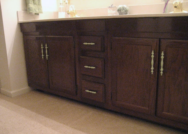 restain cabinets Crafts Projects