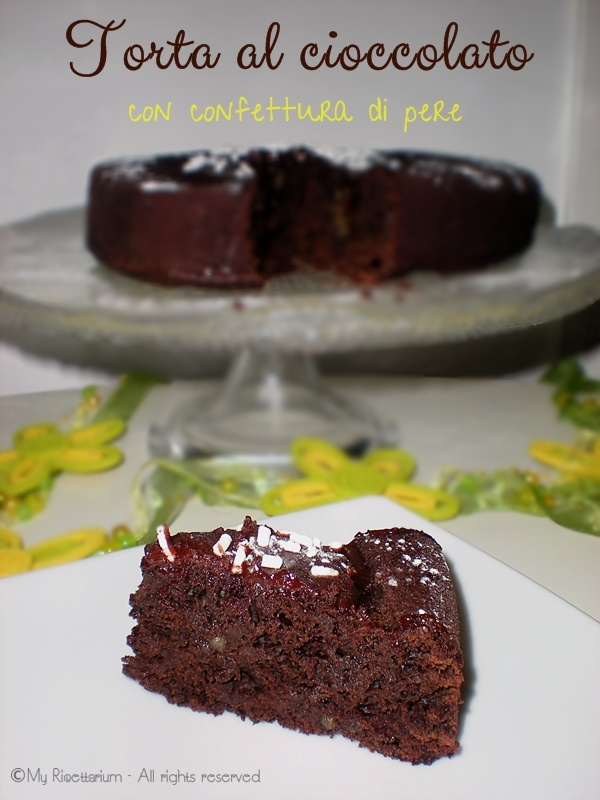 flourless chocolate cake flourless chocolate cake with spiced pears ...