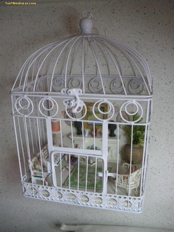 Foro de casas de muñecas y miniaturas :: Ver tema - una jaula .....