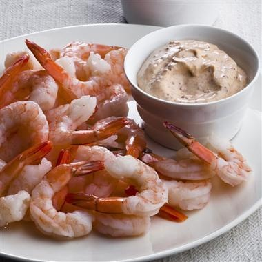 Shrimp With Three Dipping Sauces Recipes — Dishmaps
