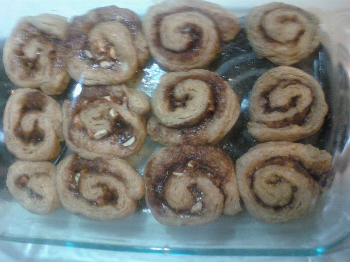 No yeast cinnamon rolls -=picture included=-