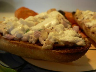 tuna & goat cheese | What's For Dinner? | Pinterest