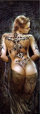 """Jigsaw Puzzles 1000 Pieces """"The Flower of Pain"""" / Educa / Luis Royo"""
