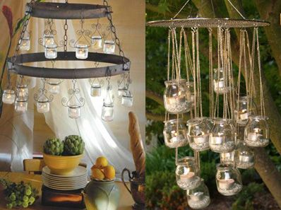 Thinking outside the box' DIY outdoor lighting