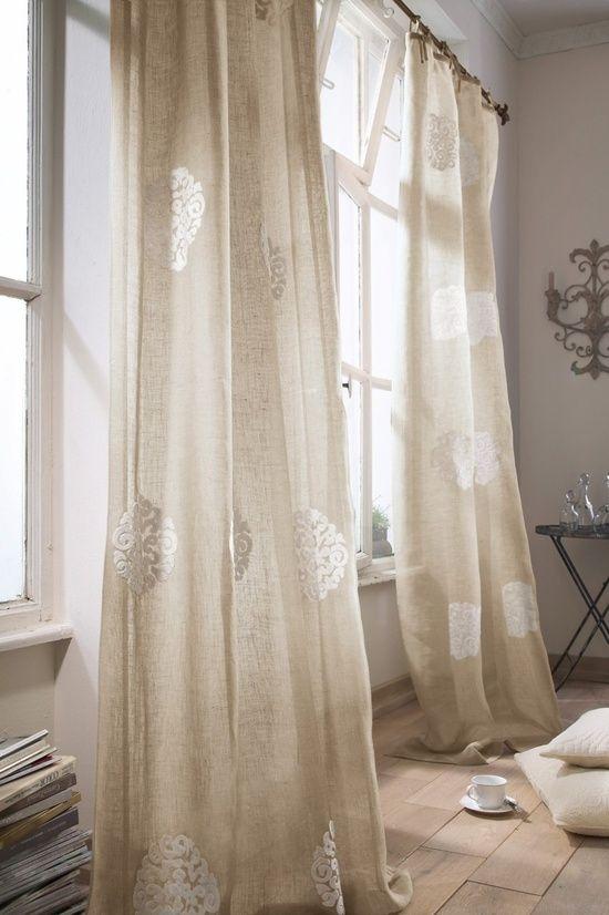 Linen drapes master bedroom makeover pinterest