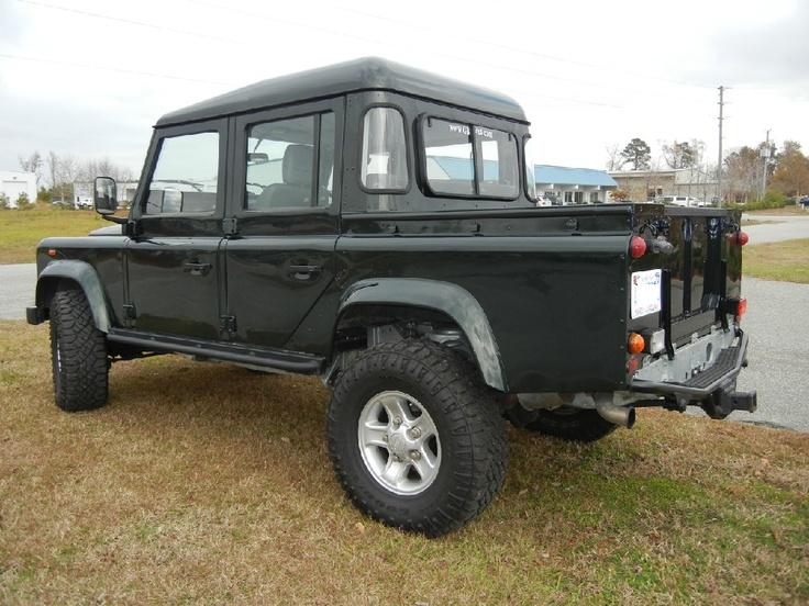 Defender 110 2018 >> Defender 110   Land Rover Defender Pickup Trucks   Pinterest