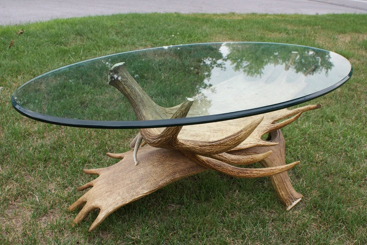 Moose Antler Coffee Table Antler Art Pinterest