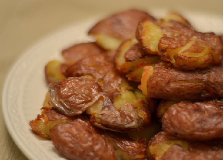Crispy Smashed Roasted Potatoes | Recipe