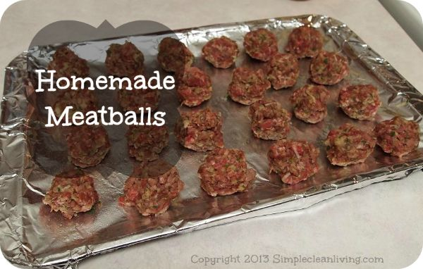 Homemade Meatballs | Delicious | Pinterest