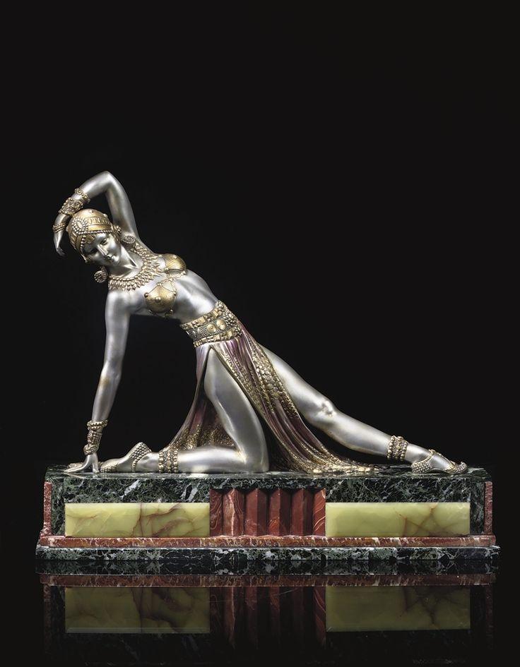 DEMETRE CHIPARUS - EXOTIC DANCER, CIRCA 1925