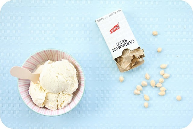 Coconut Cardamom Ice Cream