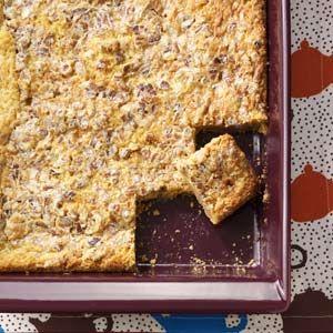 Caramel-Pecan Dream Bars | Recipe