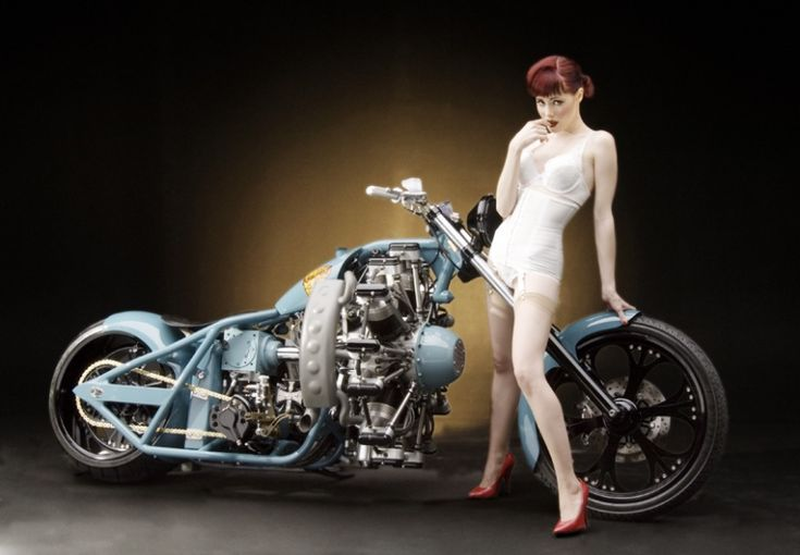 redheaded pin up girl motorcycle tattoo ideas inspiration pinups candace campbell. Black Bedroom Furniture Sets. Home Design Ideas