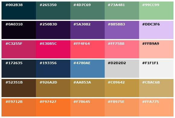 Monochromatic color palettes books worth reading pinterest for Monochromatic colors