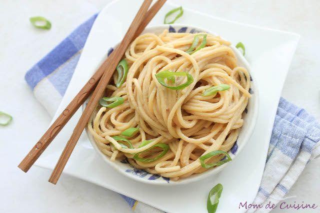 Tahini Noodles.