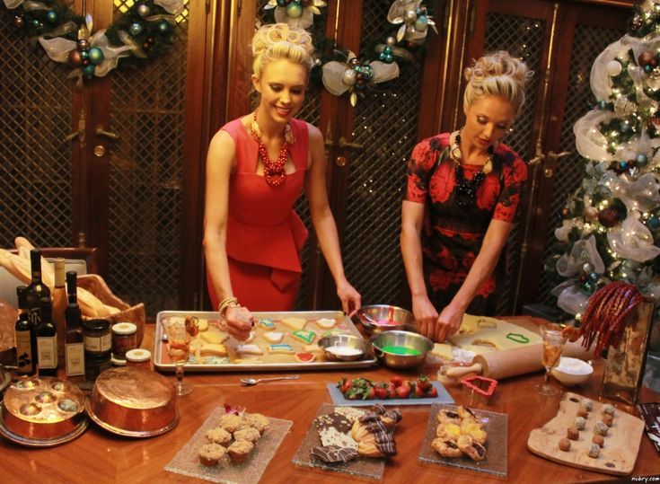 Red dress and cookies christmas eve why naughty girls should