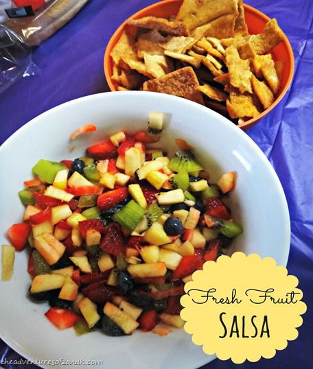 fresh fruit salsa | Recipes to try | Pinterest