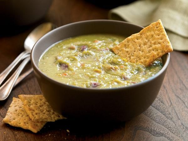 Ingredient Slow-Cooker Recipes: Split Pea Soup With Ham http://www ...