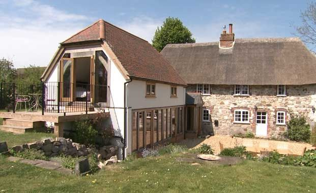 Country cottage extension flat pack homes pinterest for Cottage kitchen extensions