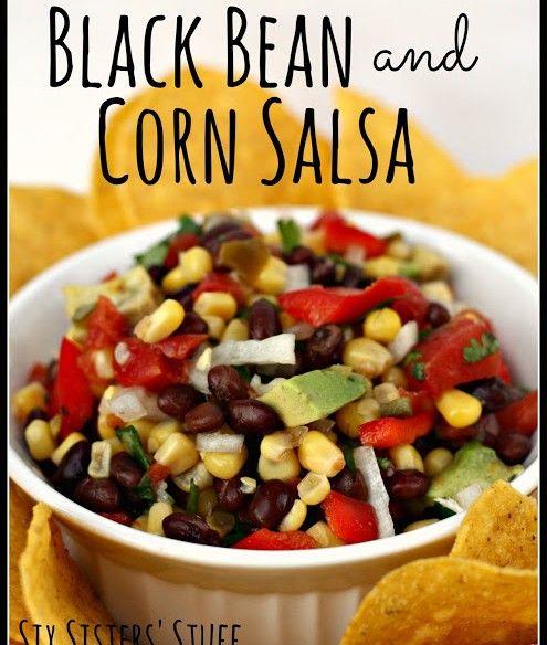 Black Bean and Corn Salsa Recipe | Food! | Pinterest