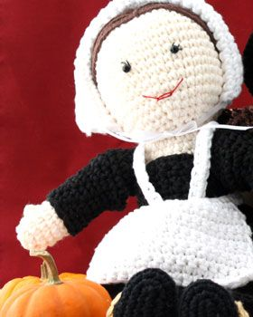 "Free pattern for ""Pilgrim Lily Doll""!"