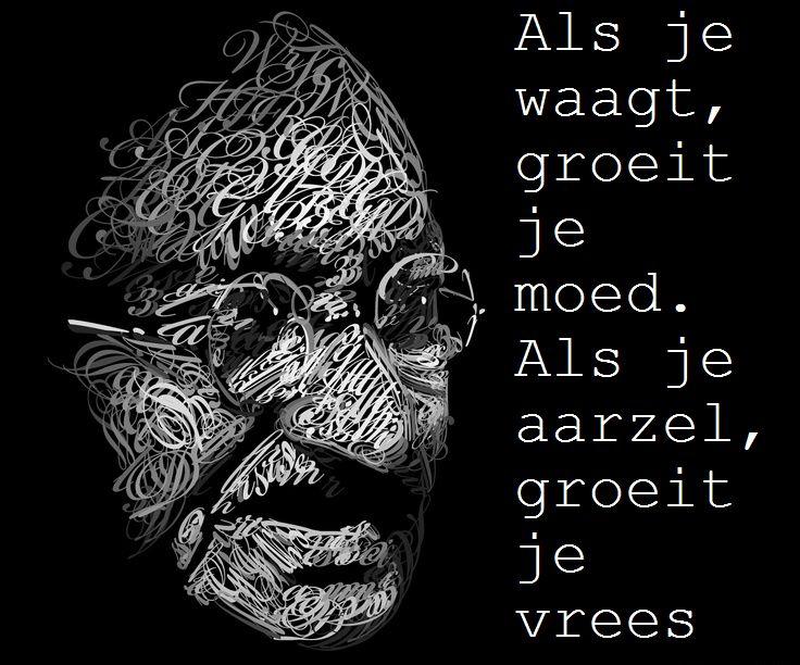 Citaten Gandhi : Mahatma gandhi citaat quotes pinterest
