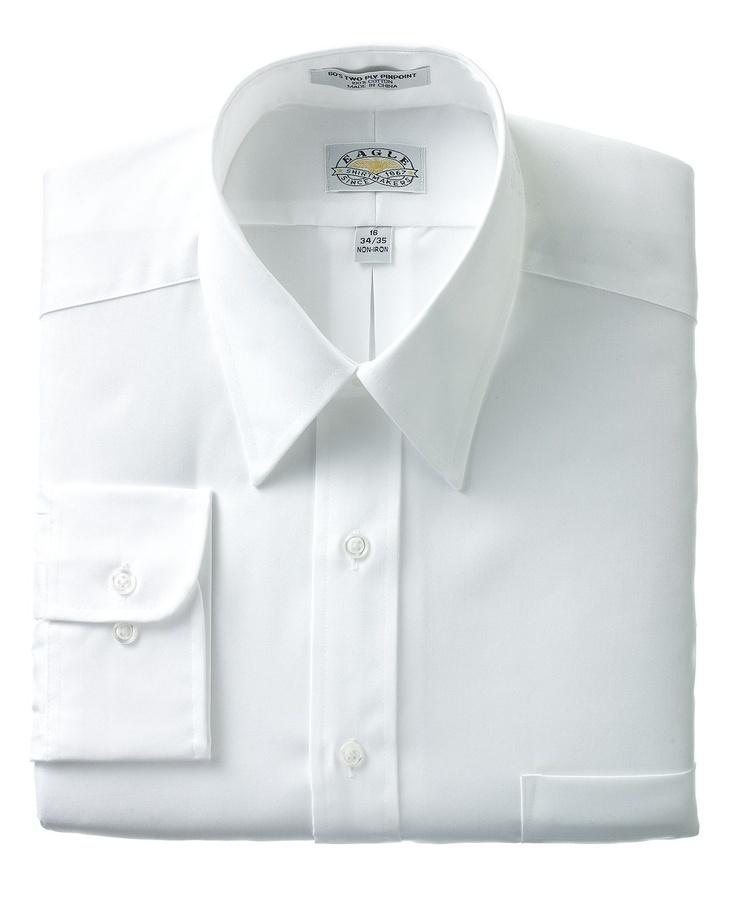 Eagle Dress Non Iron Pinpoint Dress Shirt