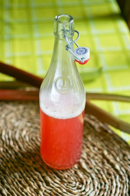 Rhubarb Simple Syrup   Things To Drink   Pinterest