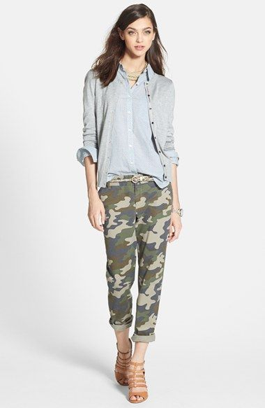 ... at #Nordstrom. I don't know why but I love a little camouflage