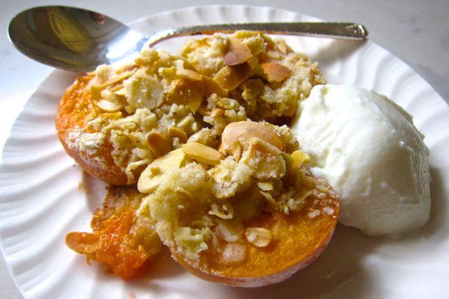 Apricot Breakfast Crisp   Breakfast & Brunch   Pinterest