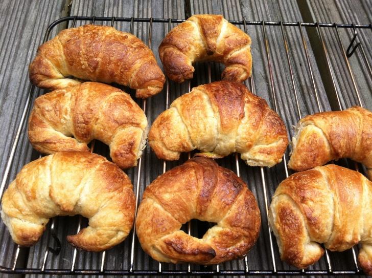 Buttery Flaky Croissants :) | Warm Fresh Bread | Pinterest