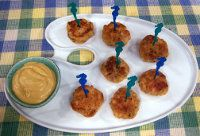 Crab Cakes with Joe's Mustard Sauce -- Yields: 8 Ingredients3/4 cup ...