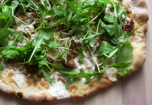 pizza with arugula prosciutto and arugula pizza arugula tomato pizza ...