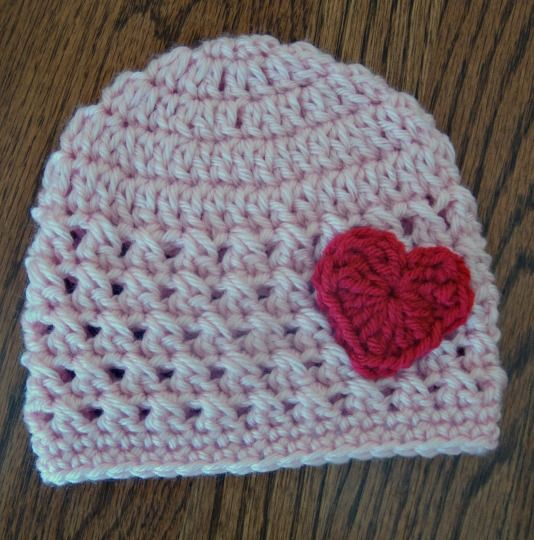 ... month Valentine hat. My crochet work-A Touch of Love Crochet