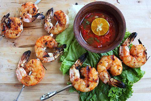 Lemongrass And Sriracha Grilled Shrimp Recipes — Dishmaps