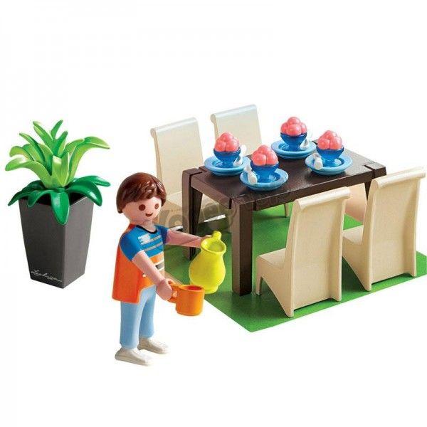 Playmobil dollhouse 5335 mega toys pinterest for Playmobil schickes esszimmer 5335