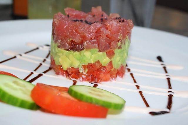 tuna tartare tuna tartare curried tuna wraps layered tuna hors d ...