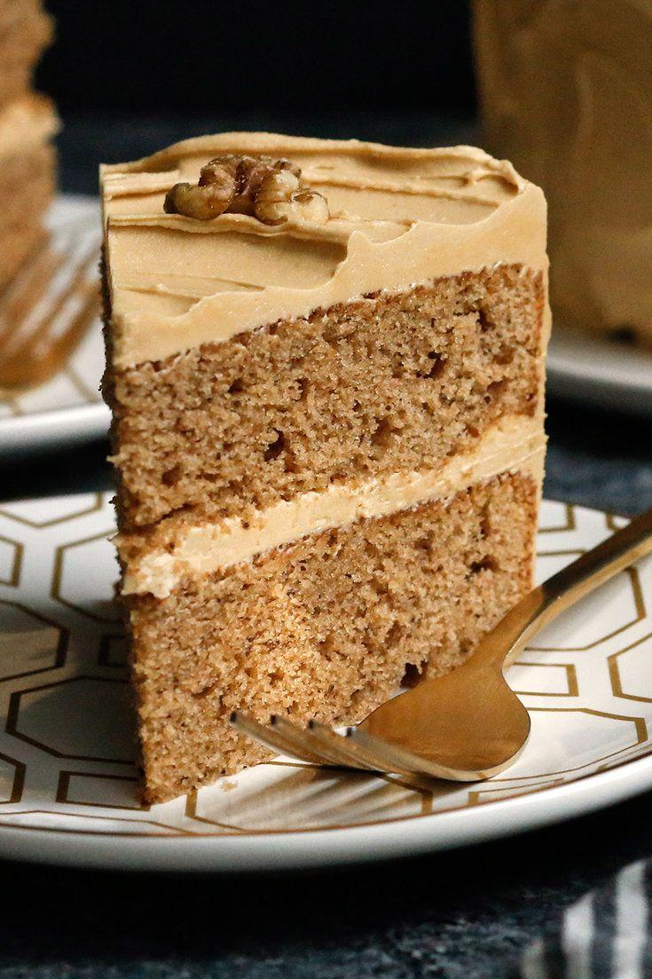 foto Apple Walnut Cake with Caramel Frosting Recipe