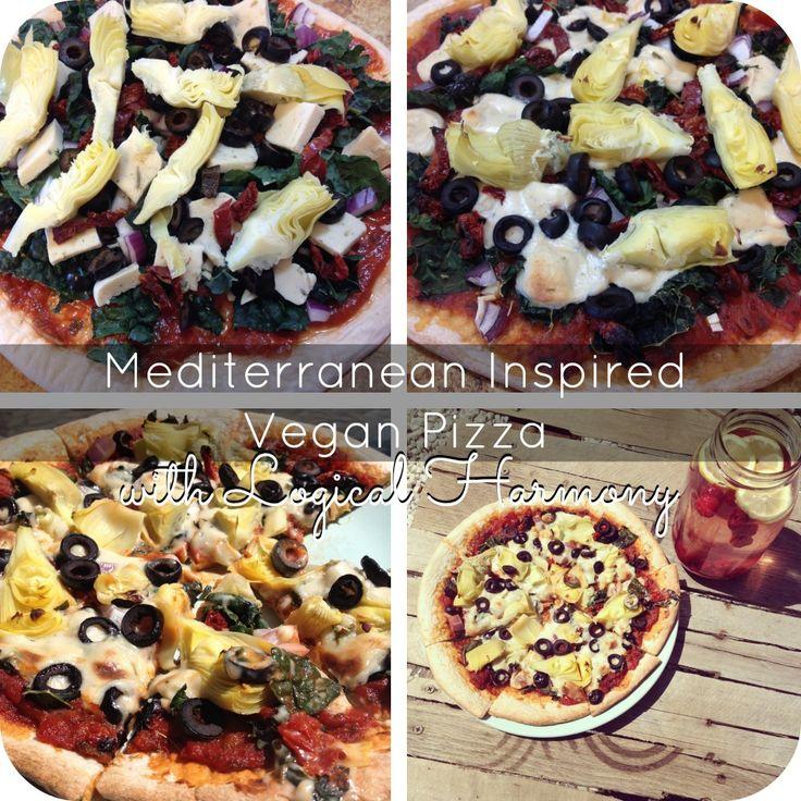 Mediterranean Inspired Vegan Pizza | Vegan/Vegetarian Loves | Pintere ...