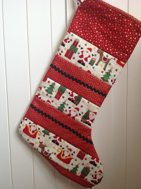 Quilted Christmas Stockings