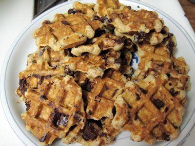 Oatmeal Chocolate Chip Waffle Cookies | Food I'm too Lazy to Make | P ...