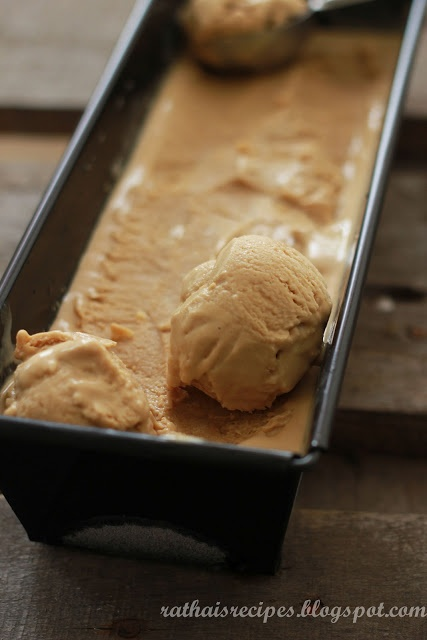 Butterscotch Ice Cream | ice cream. | Pinterest