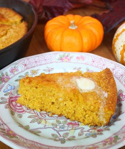 Pumpkin Cornbread | Breads | Pinterest