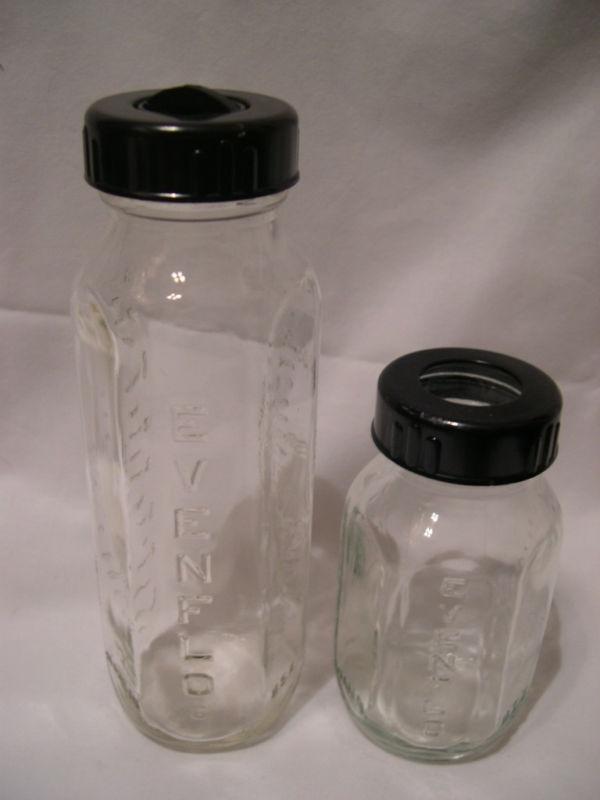 Vintage Glass Baby Bottle 113