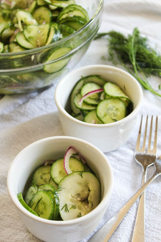 Bites of Bri | Cucumber Dill Salad | http://bitesofbri.com